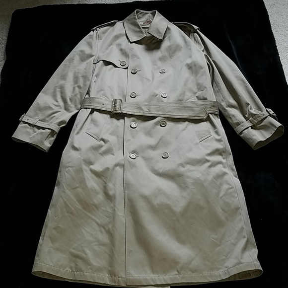 outlet boutique differently look good shoes sale Oleg Cassini trench coat